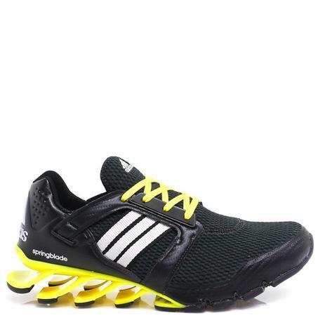 077192132e9 Tênis adidas springblade e-force preto e amarelo - Tênis de Corrida ...