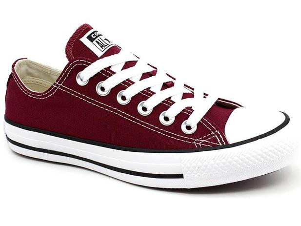 0395d9e7579 Tênis All Star Converse Core OX CT0001 Bordo - All star - converse ...