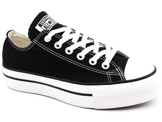 Tênis All Star Converse CT0495 Plataforma Preto All star converse