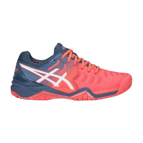d5414ccab34 Tênis Asics Gel Resolution 7 Papaya e Azul - Tênis - Magazine Luiza