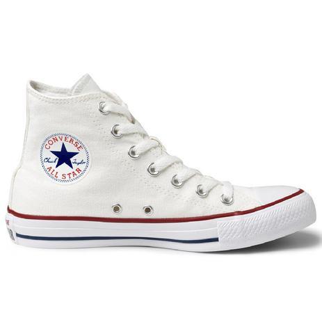 04f12dbcb6 Tênis Converse All Star Chuck Taylor As Core HI Branco Marinho CT00040001