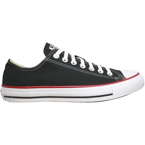 c7ee627a5a Tênis Converse All Star Chuck Taylor As Core Ox Preto Vermelho CT00010007