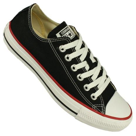 0e27c6903db Tênis Converse All Star Ct as Core Ox Cor Preto Branco - Tênis ...