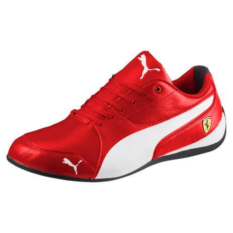 16c06451edb6e Tênis Couro Puma Ferrari SF Drift Cat Vermelho - Tênis Feminino ...