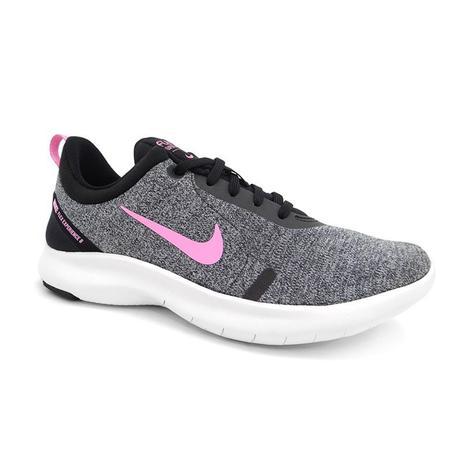 Tenis Feminino Flex Experience Rn 8 Nike 02 Cinza Mescla