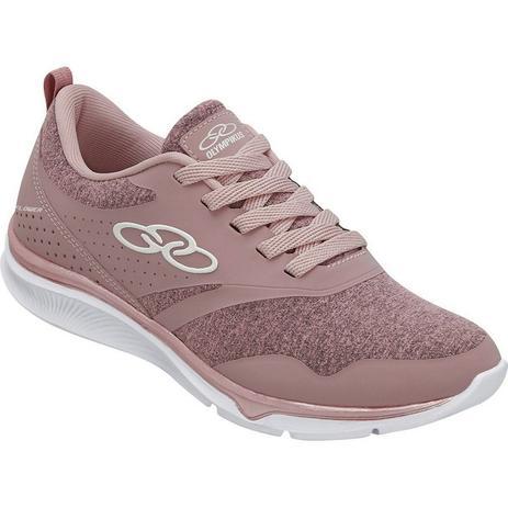 682234648648c Tênis Feminino Olympikus Esportivo Flower Rosa Caminhada Cd463 ...