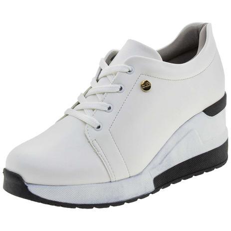 cea4ab396a Tênis Feminino Sneaker Quiz - 6837915 BRANCO BRANCO - Tênis Feminino ...