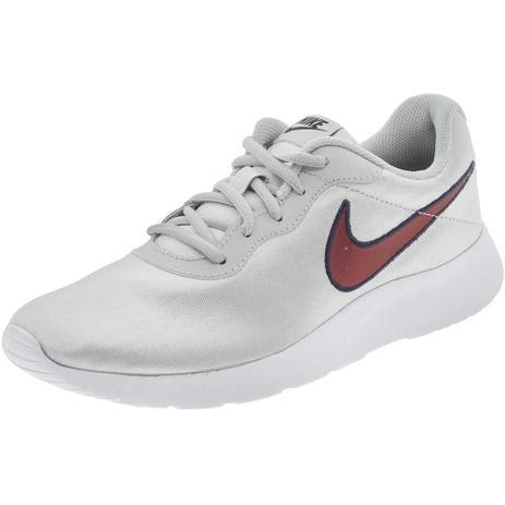 6fec3d05ec Tênis Feminino Tanjun SE Nike - 844908 PRATA PRATA - Sapatilha ...
