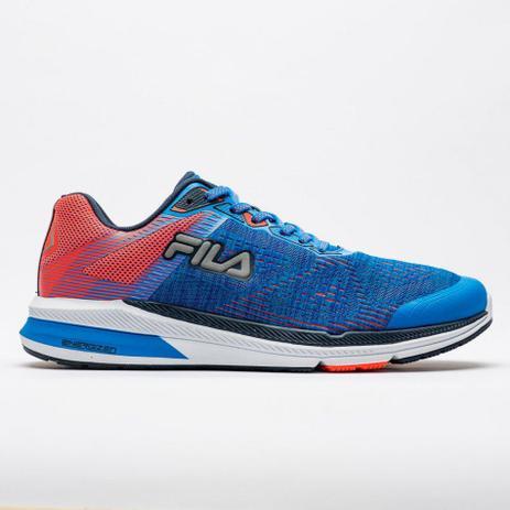 b14019e3edd Tênis Fila FR Trainer Energized Masculino - Azul Coral - Tênis para ...
