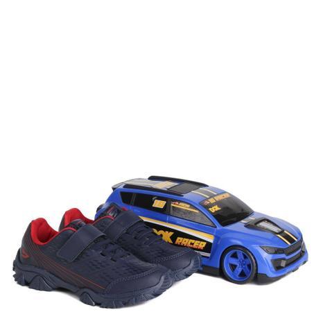 Imagem de Tênis Infantil Dok Racer Menino Azul Marinho
