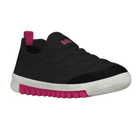 33960c4e40 Tênis Infantil Menina Bibi Preto e Pink Roller New - Calçados para ...
