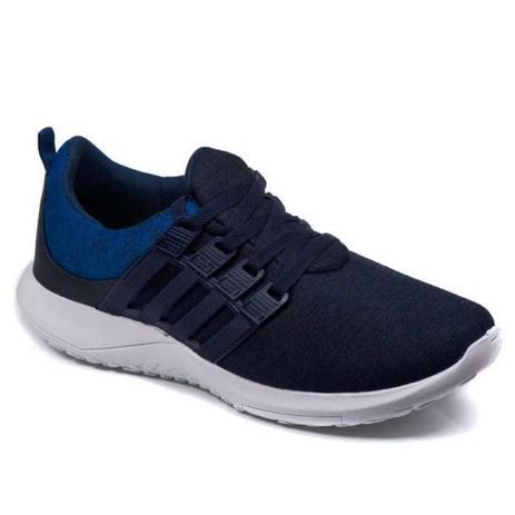 8af4d8fe33 Tenis Masculino Caminhada Super Leve e Confortável Azul - Spark ...