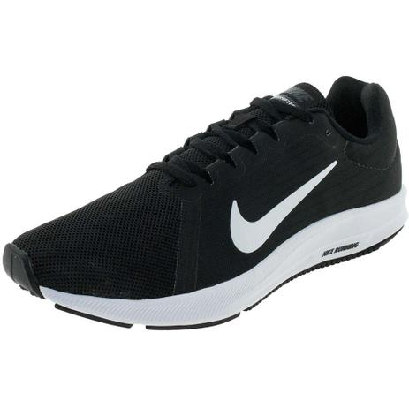 Tênis Masculino Downshifter 8 Nike 908988 Preto Preto