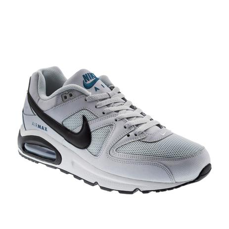 newest c7a14 0abe0 ... promo code for tênis masculino nike air max command nike cinza preto  branco c6885 a09df
