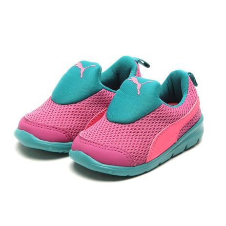 a03de0d4b0239 Tênis Puma Bao 3 Mesh Infantil Pink - Tênis Infantil - Magazine Luiza