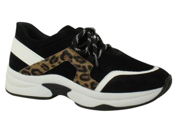 Imagem de Tênis Sneaker Flatform Animal Print Quiz 67-39928