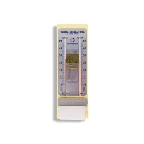 Imagem de Termo-higrômetro bulbo seco e umido -10+50:1C Liquido leitura direta 310 X 90MM