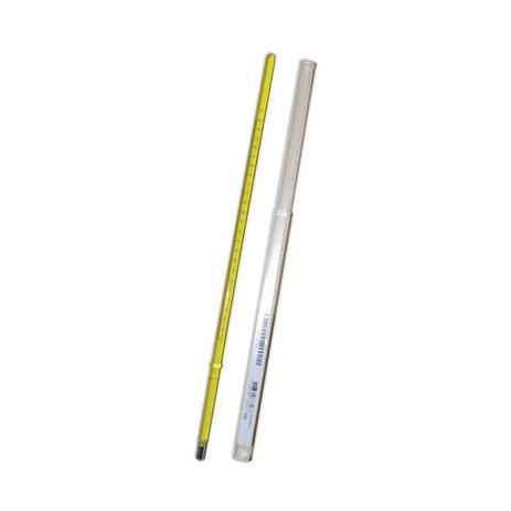 Imagem de Termômetro ASTM E-1   9C  -5+110:0,5C HG 290MM Imersão 57MM