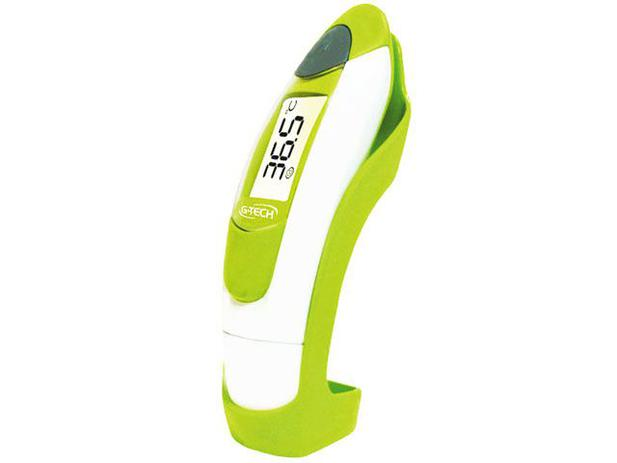 Termômetro Digital de Testa e Ouvido - com Infravermelho - G-Tech THGTOUT