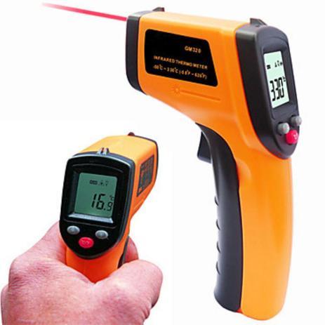 da411b894 Termometro Laser Digital Infravermelho Temperatura -50º-380º - Bms ...