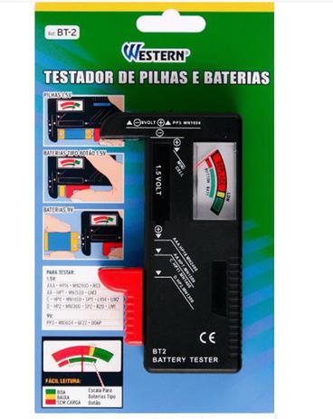 Imagem de Testador de Pilhas e Baterias Western BT-2W