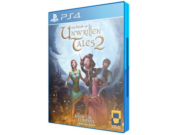 The Book of Unwritten Tales 2 para PS4 - Nordic Games - 220V