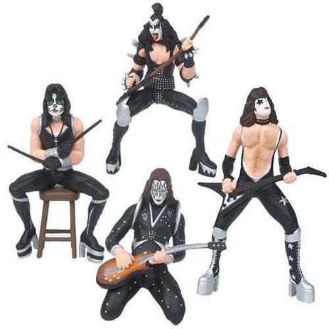 Imagem de The Demon, The Starchild, The Starman e The Catman - KISS - Superstar Toys