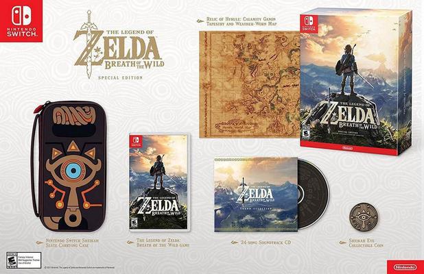Imagem de The Legend of Zelda: Breath of the Wild Special Edition - Switch