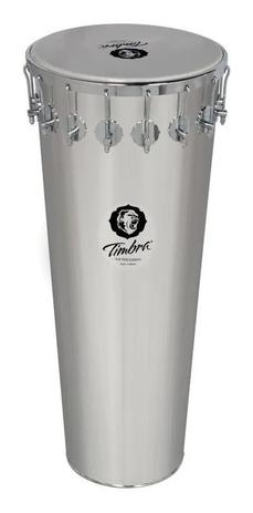 Imagem de Timba Timbra 90x14 Aluminio Cromado Pele Leitosa  8261