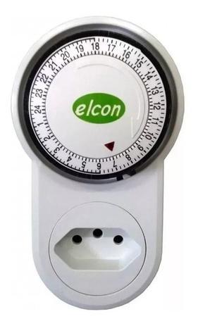 Imagem de Timer analogico temporizador 10a Bivolt Elcon Tm22