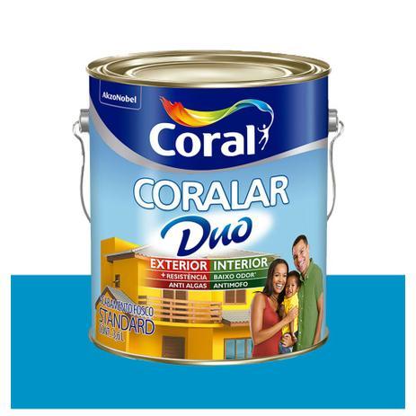 Tinta Coral Econômica Coralar Duo acrílica fosca oceano 3,6L