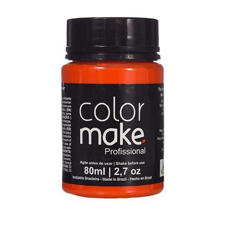 Imagem de Tinta Liquida Profissional Laranja  - Color Make