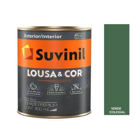 Imagem de Tinta Lousa & Cor Verde Colegial R058 800ml Suvinil