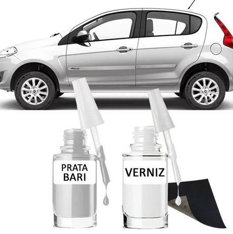 Imagem de Tinta Tira Risco Automotivo para toda a linha Fiat Prata Bari