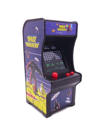 Imagem de Tiny Arcade Space Invaders Mini Fliperama Retrô Funcional