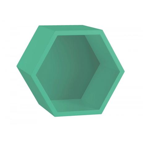 Nicho Hexagonal MDF Favo Maxima Verde Anis - Cubos e Prateleiras ... 19e48ecc26