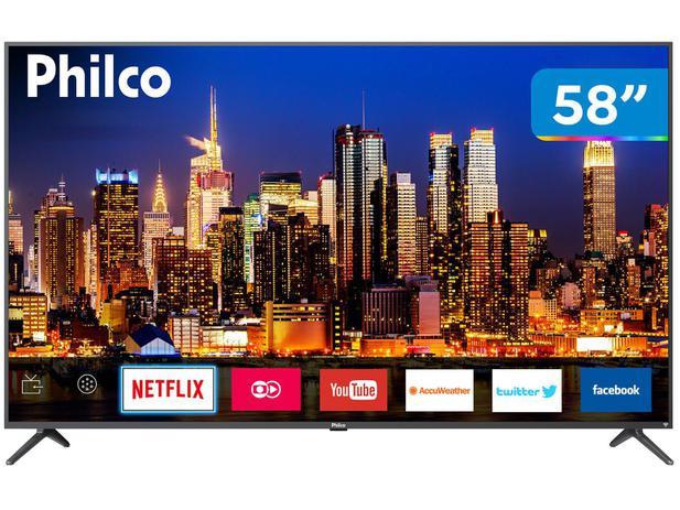 """Imagem de Smart TV 4K LED 58"""" Philco PTV58F60SN Wi-Fi"""