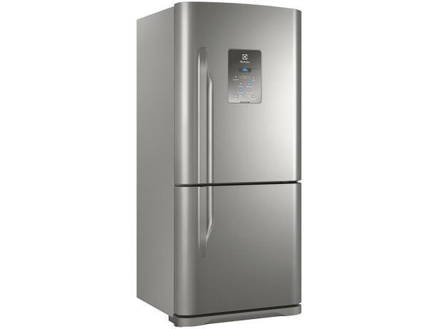 Geladeira/Refrigerador Electrolux Frost Free Inox - 598L DB84X - 110V