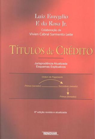 Imagem de TITULOS DE CREDITO - JURISPRUDENCIA ATUALIZADA E ESQUEMAS EXPLICATIVOS - 8º ED