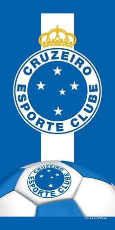 Toalha Aveludada Time de Futebol - Cruzeiro Buettner - Toalha de ... b79918c1c36bf