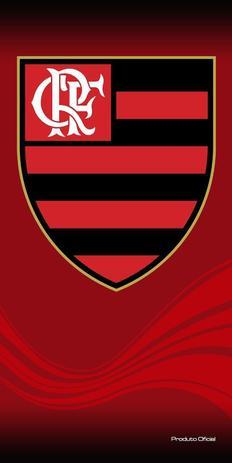 Toalha Aveludada Time de Futebol - Flamengo Buettner - Toalha de ... 80077bc5b35af