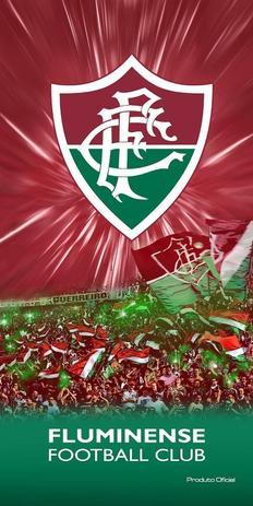 Toalha Aveludada Time de Futebol - Fluminense Buettner - Toalha de ... 3b1b4c302797d