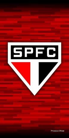 Toalha Aveludada Time de Futebol - São Paulo Buettner - Toalha de ... b7190fa99d64f