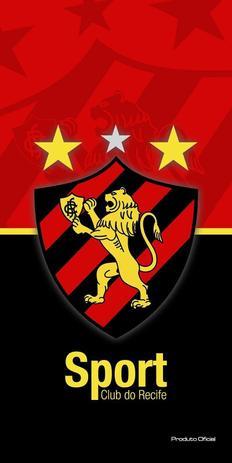 Toalha Aveludada Time de Futebol - Sport Recife Buettner - Toalha de ... 6b66b2059ecd0