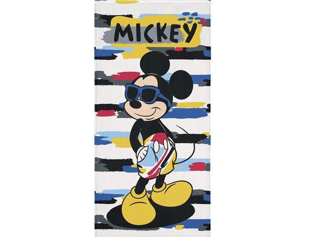 f8c75df77404 Toalha de banho aveludada estampada Mickey - Lepper - Toalha de ...