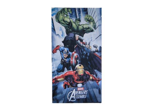 b59cebdf719c1 Toalha de banho aveludada transfer Avengers - Lepper - Toalha de ...