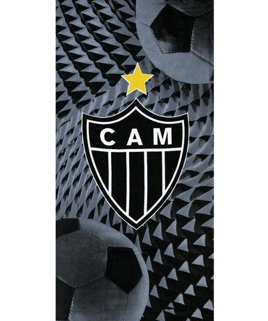 bcf3eb9d4c9c Toalha De Banho E Praia Atlético Mineiro Aveludada - Dohler - Toalha ...