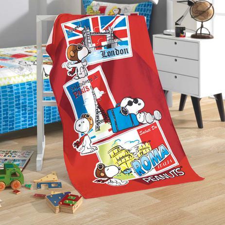93b3faac80 Toalha de Banho Infantil Velour Snoopy 03 - Dohler - Toalha de ...