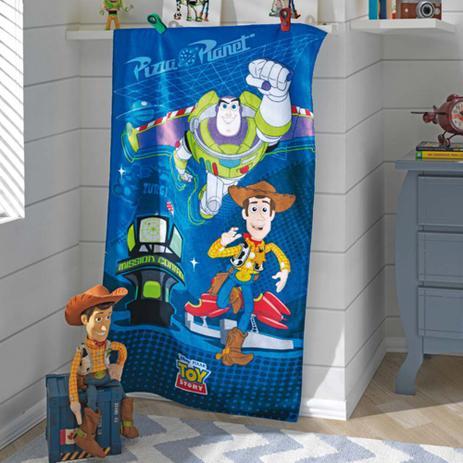 4f1b526d48 Toalha de Banho Infantil Velour Toy Story 03 - Dohler - Toalha de ...