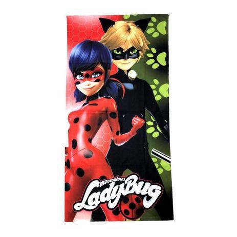 Imagem de Toalha De Banho Ladybug Infantil Personagens